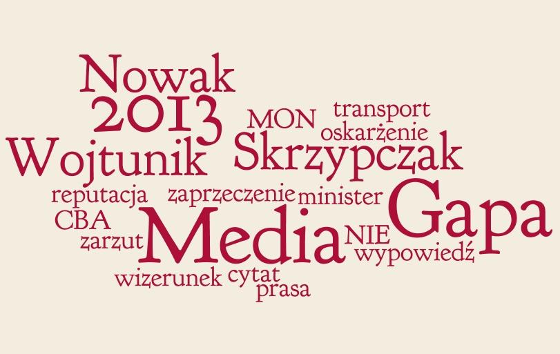 Sławomir Nowak – Media Gapa 2013